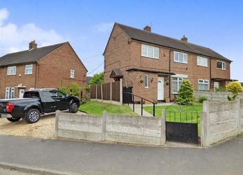 Thumbnail 2 bedroom semi-detached house for sale in Cleveland Road, Knutton, Newcastle-Under-Lyme
