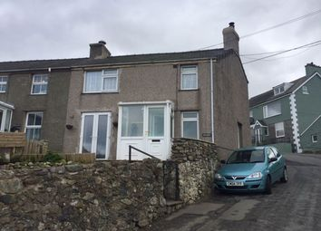 Thumbnail 2 bed semi-detached house to rent in Rhiwlas, Bangor