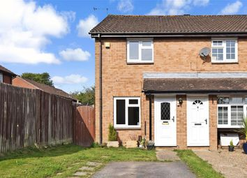 Thumbnail 2 bed end terrace house for sale in St. Brelades Road, Cottesmore Green, Crawley, West Sussex