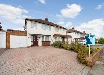 Thumbnail 3 bed semi-detached house for sale in Nursery Gardens, Staines
