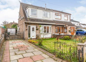 Thumbnail 3 bed semi-detached house for sale in Whitehouse Close, Haydock, St. Helens, Merseyside