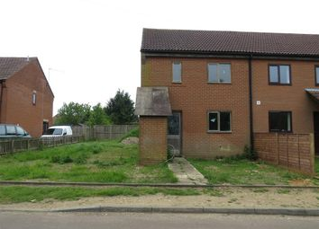 Thumbnail 3 bedroom end terrace house for sale in Stirling Road, Sculthorpe, Fakenham