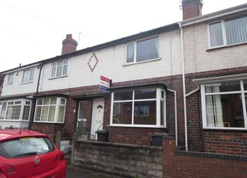 Thumbnail 2 bed terraced house for sale in Boulton Street, Wolstanton, Newcastle