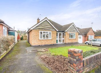 Thumbnail 3 bedroom detached bungalow for sale in Wayside Drive, Oadby, Leicester
