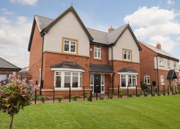 "Thumbnail 4 bed detached house for sale in ""Aston"" at Warwick Road, Kibworth, Leicester"