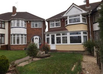 Thumbnail 3 bed semi-detached house for sale in Meriden Drive, Kingshurst, Birmingham, West Midlands