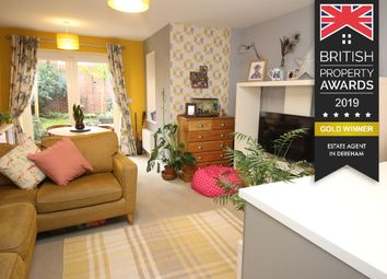Thumbnail 3 bedroom terraced house for sale in Poll Close, Wymondham