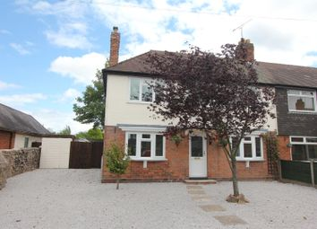 Thumbnail 3 bedroom semi-detached house for sale in Stanton Road, Sapcote, Leicester