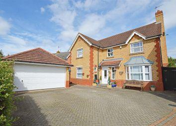 Thumbnail 4 bed detached house for sale in Birchen Close, Hampton Hargate, Peterborough