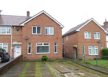 Thumbnail 3 bedroom end terrace house for sale in Burnhill Grove, Birmingham