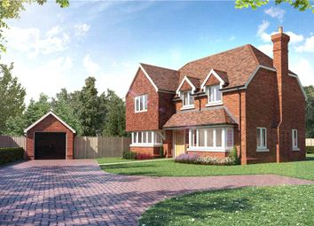 Thumbnail 3 bedroom detached house for sale in Bagshot Road, Chobham, Woking, Surrey