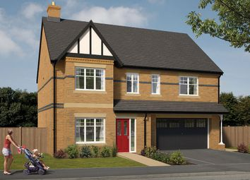 "Thumbnail 5 bed detached house for sale in ""The Cotham"" at Wingfield Road, Alfreton"