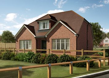 "Thumbnail 3 bedroom detached house for sale in ""The Polesden "" at River Lane, Fetcham, Leatherhead"