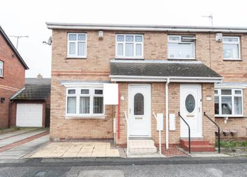 Thumbnail 3 bed semi-detached house for sale in Hawkridge Close, Hartlepool