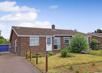 Thumbnail 2 bed semi-detached bungalow for sale in St. Michaels Road, Long Stratton, Norwich
