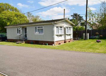 Thumbnail 2 bed mobile/park home for sale in East Hill Road, Knatts Valley, Sevenoaks