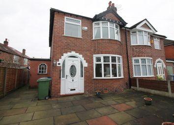 Thumbnail 3 bed semi-detached house for sale in Whitegate Park, Flixton, Urmston, Manchester
