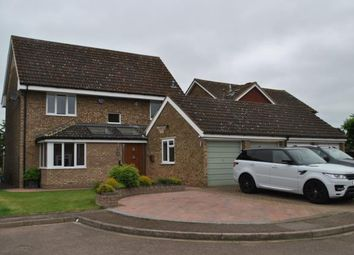 Thumbnail 4 bed detached house for sale in Kittiwake Close, Biggleswade, Bedfordshire