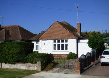 Thumbnail 3 bed detached bungalow for sale in Tennyson Avenue, Rustington, Littlehampton
