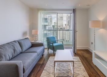 Thumbnail 1 bed flat to rent in Duckman Tower, 3 Lincoln Plaza, Canary Wharf, London
