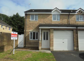 Thumbnail 3 bedroom property to rent in Gerddi Quarella, Bridgend, Bridgend.