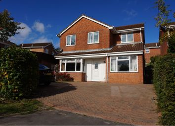 Thumbnail 5 bed detached house for sale in Carlyle Close, Galley Common, Nuneaton