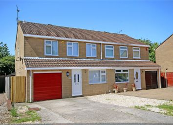 Thumbnail 4 bed semi-detached house for sale in Turnham Green, Freshbrook, Swindon