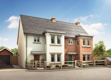 Thumbnail 3 bed semi-detached house for sale in Sturt Pond Close, Milford On Sea
