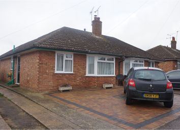 Thumbnail 2 bed semi-detached bungalow for sale in Tadworth Road, Ashford