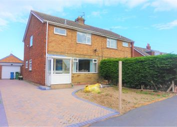 Thumbnail 3 bed semi-detached house for sale in West Garth Gardens, Scarborough