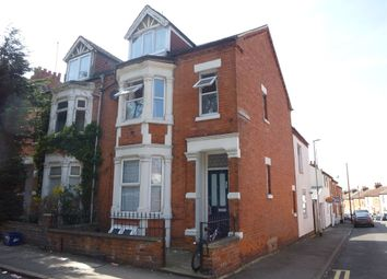 Thumbnail 4 bedroom terraced house for sale in Semilong Road, Northampton