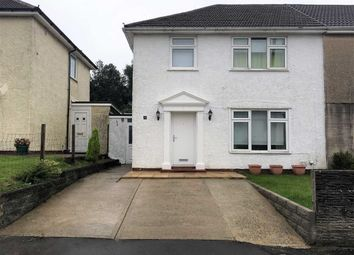 Thumbnail 3 bedroom semi-detached house for sale in Coedwig Place, Swansea
