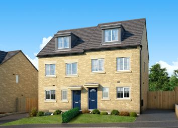 "Thumbnail 3 bed property for sale in ""The Bamburgh At Heron's Reach, Bradford"" at Allerton Lane, Allerton, Bradford"