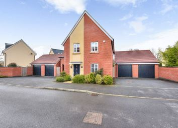 Thumbnail 4 bed detached house for sale in Towpath Avenue, Northampton