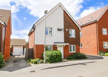 Thumbnail 4 bedroom detached house to rent in Corfe Meadows, Broughton, Milton Keynes, Bucks