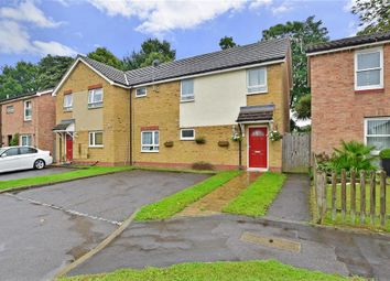 Thumbnail 3 bed semi-detached house for sale in Chaffinch Way, Horley, Surrey