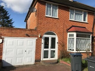 Thumbnail 3 bed semi-detached house to rent in Woodcroft Ave, Birmingham