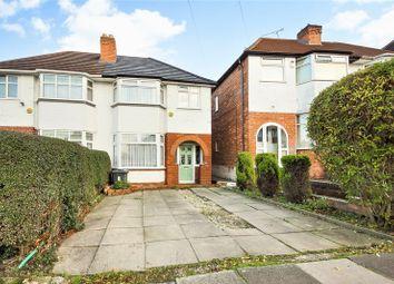Thumbnail 3 bed semi-detached house for sale in Corisande Road, Selly Oak, Birmingham