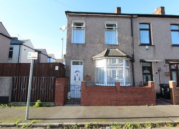 Thumbnail 2 bed end terrace house for sale in Exeter Road, Newport