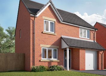 "Thumbnail 3 bed semi-detached house for sale in ""The Wyatt"" at Southfield Lane, Tockwith, York"