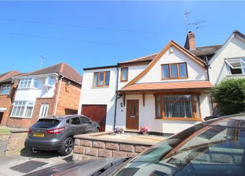 Thumbnail 4 bed semi-detached house for sale in Parkside Road, Chaddesden, Derby