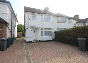 Thumbnail 4 bed semi-detached house to rent in Meadow Gardens, Edgware, London.