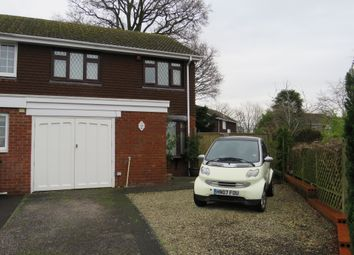 Thumbnail 3 bed end terrace house for sale in Lakeside Avenue, Rownhams, Southampton