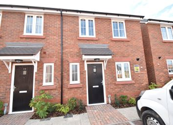 Thumbnail 2 bedroom end terrace house for sale in Hollyblue Close, Drakes Broughton, Pershore, Worcestershire