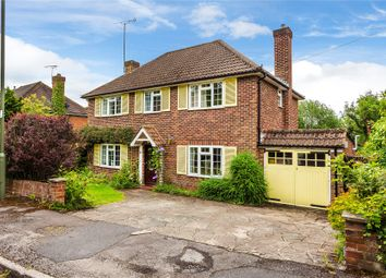 Thumbnail 4 bed detached house for sale in Hook Heath, Woking, Surrey