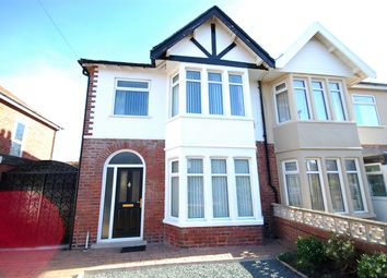 Thumbnail 3 bed semi-detached house for sale in Falmouth Road, Blackpool, Lancashire
