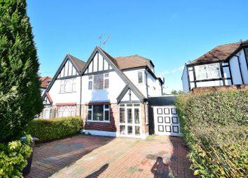 Thumbnail 4 bed semi-detached house for sale in Carlton Avenue West, Wembley, Middlesex
