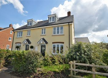 Thumbnail 4 bed semi-detached house for sale in Wirethorn Furlong, Haddenham, Aylesbury