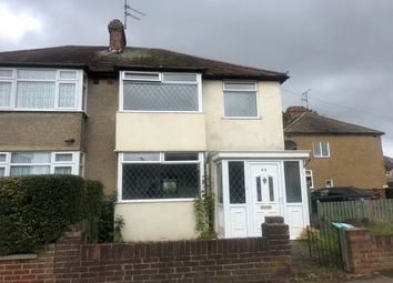 Thumbnail 3 bed semi-detached house to rent in Fourth Avenue, Luton