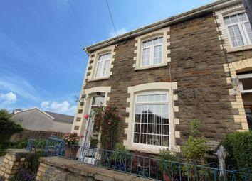 Thumbnail 2 bed end terrace house for sale in Tonypistyll Road, Pentwynmawr, Newbridge
